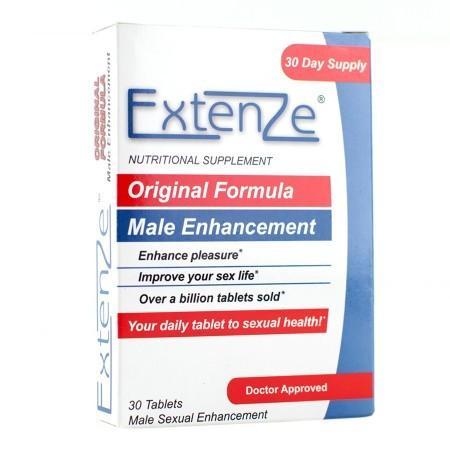 Extenze Original Formula Male Sexual Enhancement - 30 ea