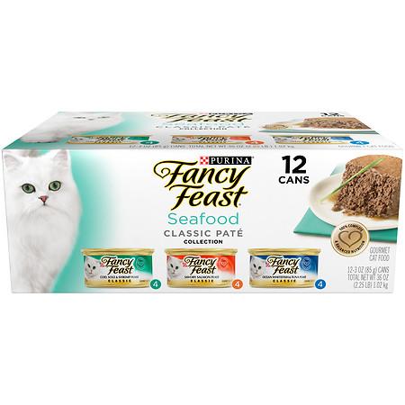 Fancy Feast Gourmet Cat Food, Variety Pack 3 Flavor - 3 oz.