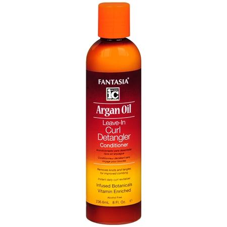 Fantasia Argan Oil Leave-In Curl Detangler Conditioner - 8 oz.