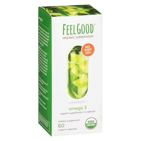 Feel Good Superfoods Omega-3 - 60 ea