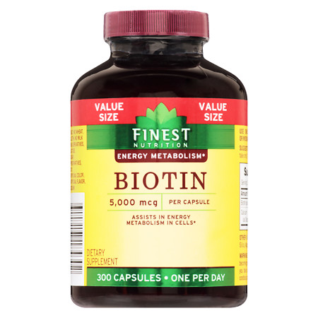 Finest Nutrition Biotin 5000 mcg Tablets - 300 ea