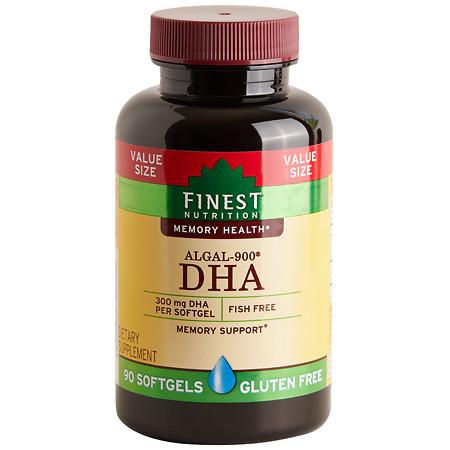 Finest Nutrition DHA VS 300 mg Softgels - 90 ea