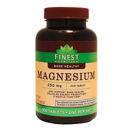 Finest Nutrition Magnesium 250 mg Tablets - 300 ea