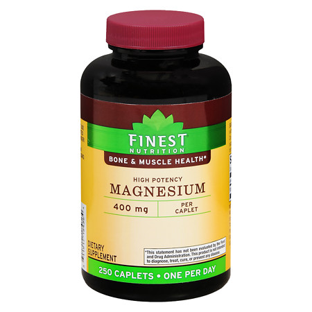 Finest Nutrition Magnesium 400 mg Tablets - 250 ea