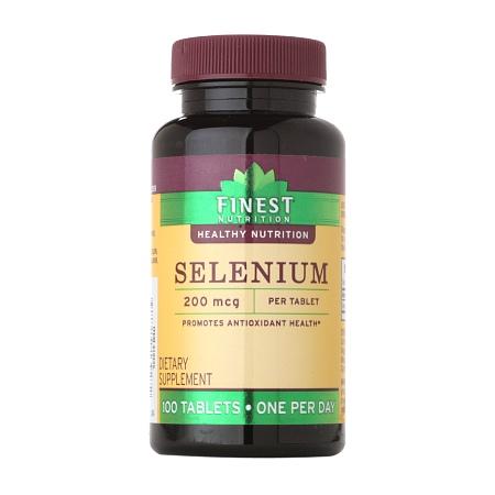 Finest Nutrition Selenium 200 MCG Tablets - 100 ea