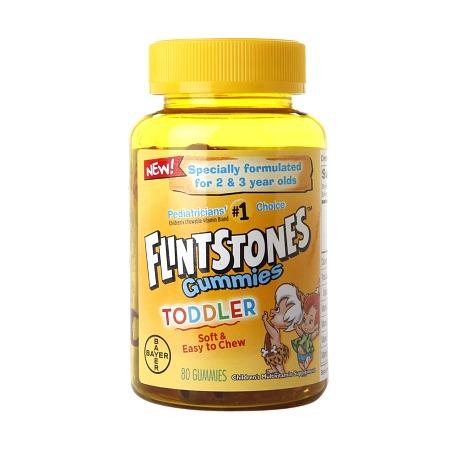 Flintstones Toddler Multivitamin Gummies - 80 ea