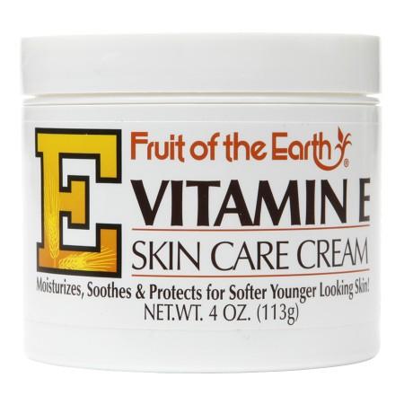 Fruit of the Earth Vitamin E Skin Care Cream - 4 oz.