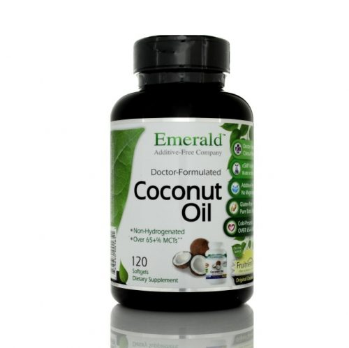 Fruitrients-X Coconut Oil, 120 count