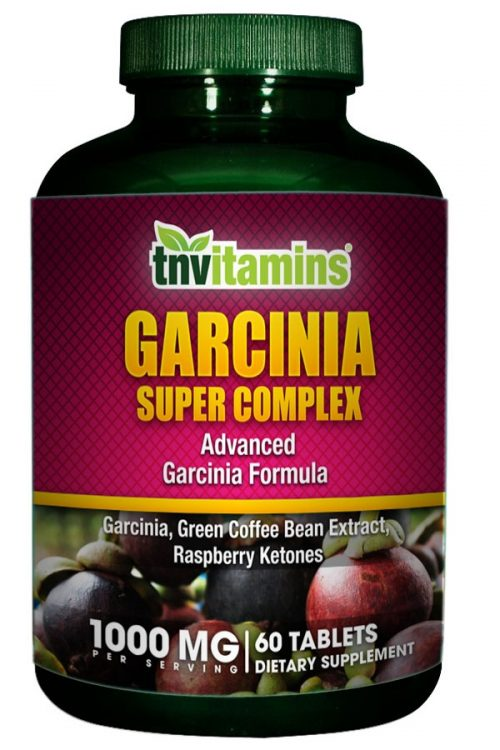 Garcinia 500 HCA With Green Coffee, Chromium & Raspberry Ketones