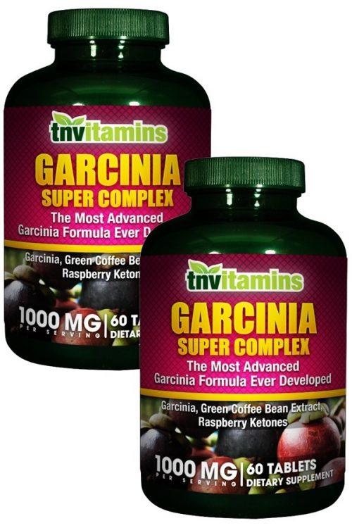 Garcinia 500 HCA With Green Coffee, Chromium & Raspberry Ketones
