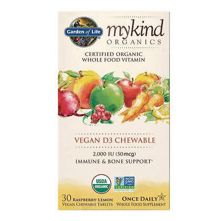 Garden of Life My Kind Vitamin D3 Chewables - 30 ea