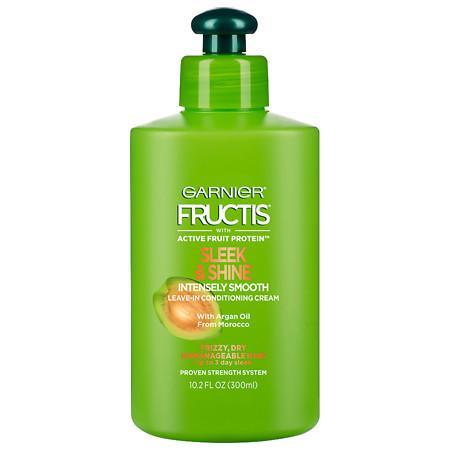 Garnier Fructis Sleek & Shine Intensely Smooth Leave-In Conditioning Cream - 10.2 fl oz