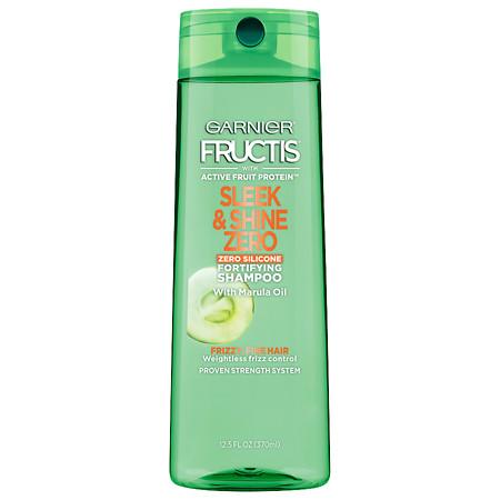 Garnier Fructis Sleek & Shine Zero Shampoo, For Frizzy, Fine Hair - 12.5 oz.