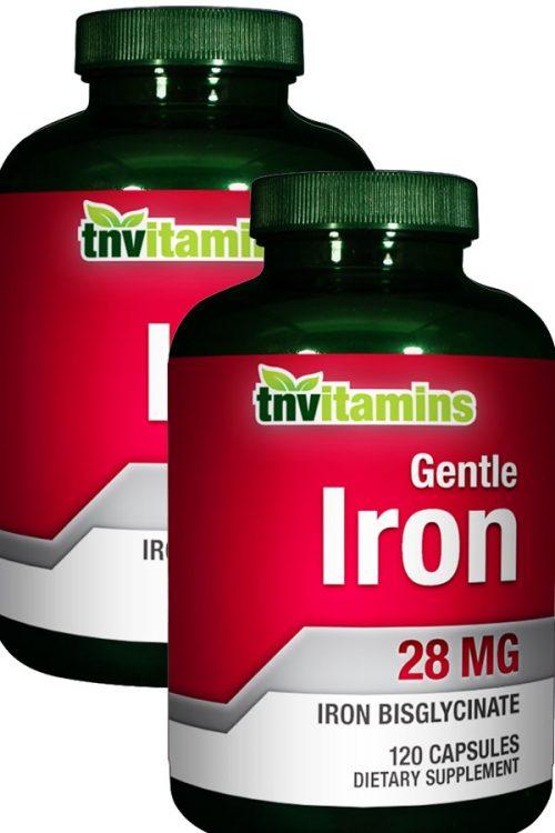 Gentle Easy Iron 28 Mg Iron Bisglycinate