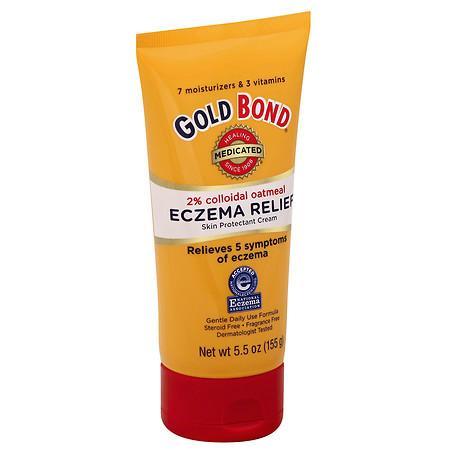 Gold Bond Medicated Eczema Relief Cream - 5.5 oz.