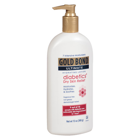 Gold Bond Ultimate Diabetic Dry Skin Relief Lotion Fragrance Free - 13 oz.