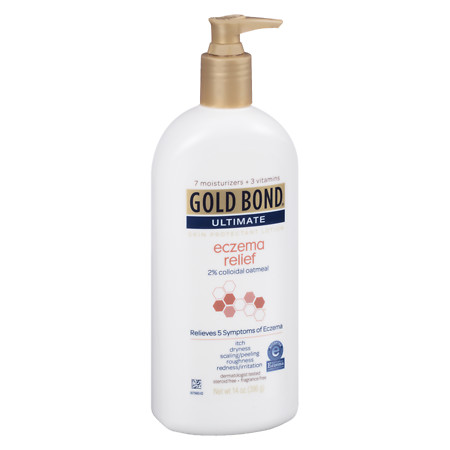 Gold Bond Ultimate Eczema Relief Lotion Fragrance Free - 14 oz.
