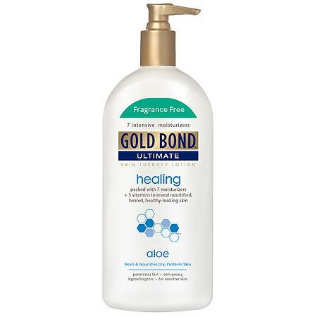 Gold Bond Ultimate Healing Skin Therapy Lotion Fragrance Free - 14 oz.