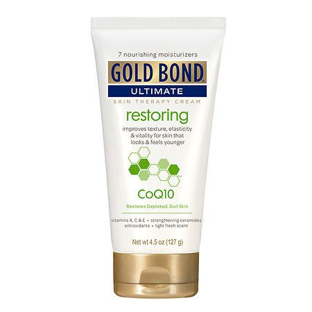 Gold Bond Ultimate Restoring Skin Therapy Cream with CoQ10 - 4.5 oz.