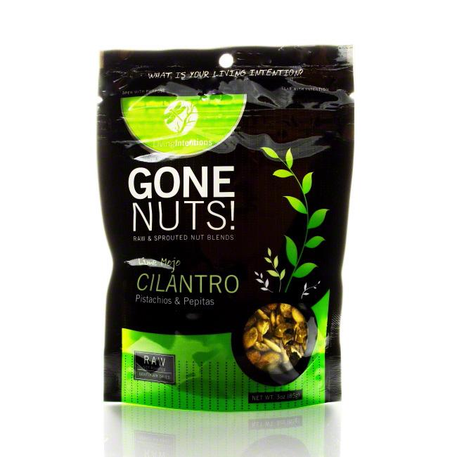 Gone Nuts! Cilantro Lime Pistachios and Pepitas, 3 oz