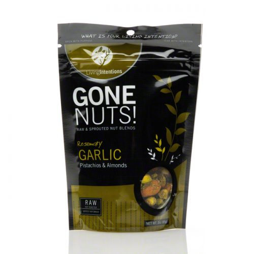 Gone Nuts! Rosemary Garlic Pistachios and Almonds, 3 oz