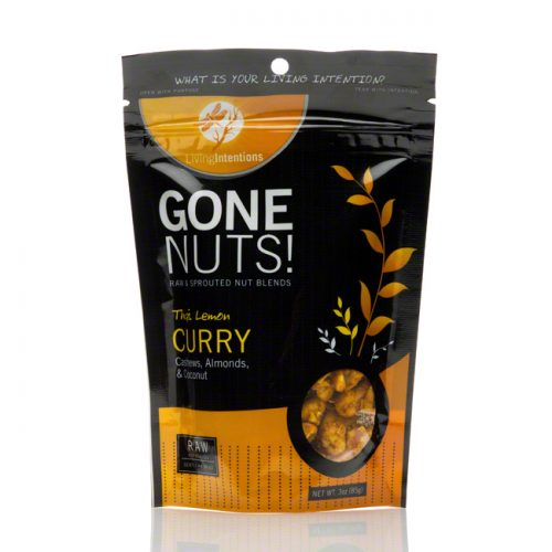 Gone Nuts! Thai Lemon Curry Cashews, Almonds and Coconut, 3 oz