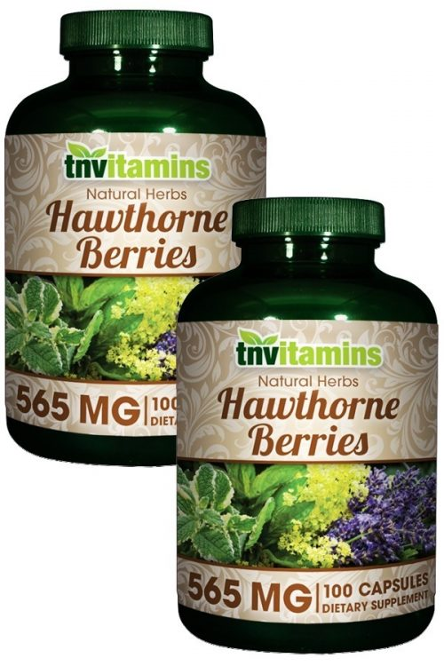 Hawthorne Berries 565 Mg.
