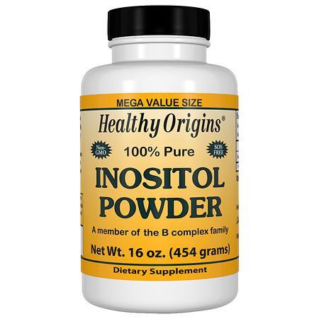 Healthy Origins 100% Pure Inositol Powder - 16 oz.