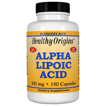 Healthy Origins Alpha Lipoic Acid, 300mg, Capsules - 150 ea