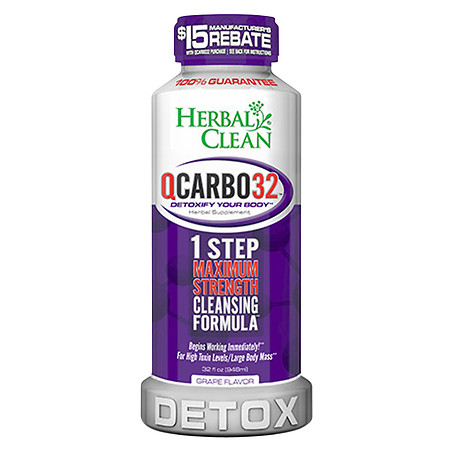 Herbal Clean 1 Step Maximum Strength Cleansing Formula Grape - 32 fl oz