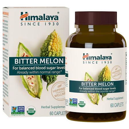 Himalaya Herbal Healthcare Bitter Melon, Caplets - 60 ea