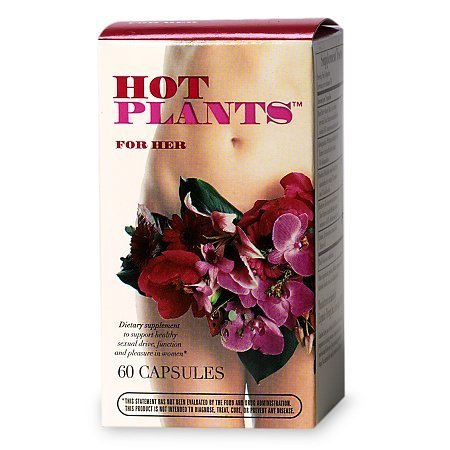 Hot Plants For Her, Capsules - 60 ea