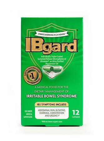 Ibgard IBS Treatment Caps - 12 ea