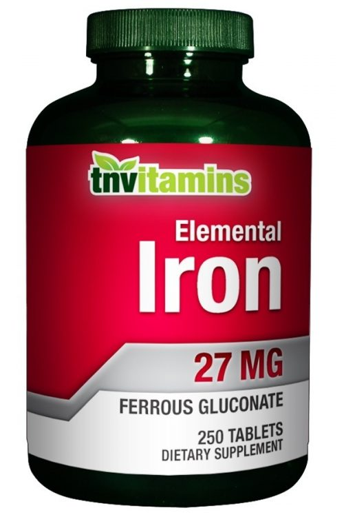 Iron 27 Mg Ferrous Gluconate
