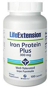 Iron Protein Plus, 300 mg, 100 capsules