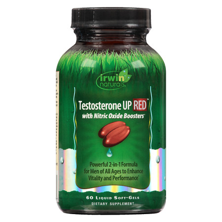 Irwin Naturals Testosterone Up Red Liquid Softgels - 60 ea