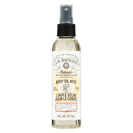 J.R. Watkins Body Oil Mist Coconut Milk & Honey - 6 oz.