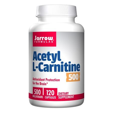 Jarrow Formulas Acetyl L-Carnitine 500mg, Capsules - 120 ea
