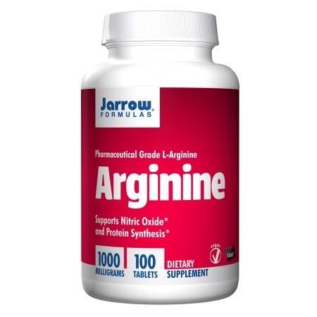 Jarrow Formulas Arginine 1000, Tablets - 100 ea