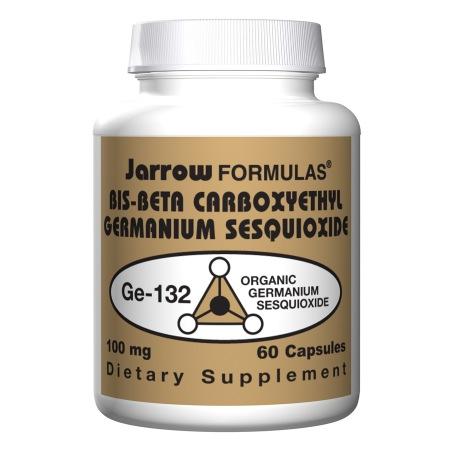 Jarrow Formulas Bis-Beta Carboxyethyl Germanium Sesquioxide, Capsules - 60 ea