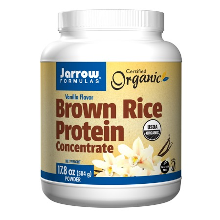 Jarrow Formulas Brown Rice Protein Concentrate Vanilla - 17.8 oz.