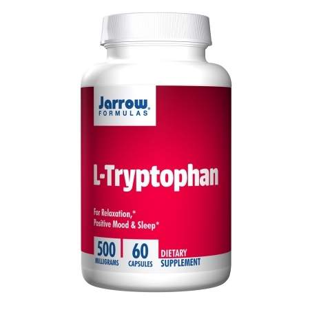Jarrow Formulas L-Tryptophan, 500 mg, Capsules - 60 ea