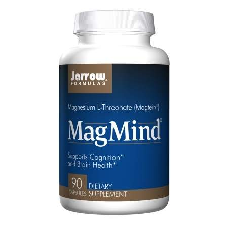 Jarrow Formulas MagMind Magnesium L-Threonate, Veggie Caps - 90 ea