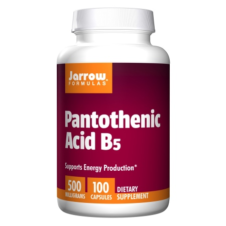 Jarrow Formulas Pantothenic Acid, B5, Capsules - 100 ea