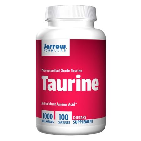 Jarrow Formulas Taurine 1000, Capsules - 100 ea