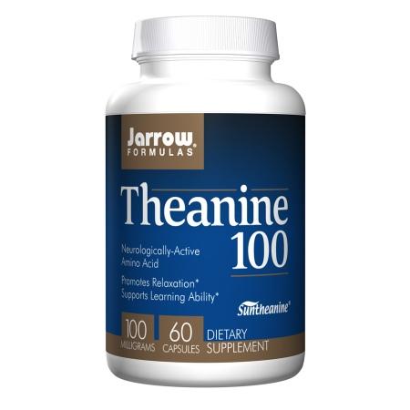 Jarrow Formulas Theanine 100mg, Capsules - 60 ea