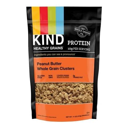 KIND Healthy Grains Clusters Peanut Butter Whole Grain - 11 oz.