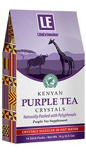Kenyan Purple Tea Crystals, 14 stick packs, 14 g (0.5 oz)