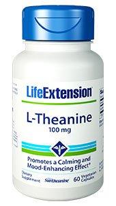 L-Theanine, 100 mg, 60 vegetarian capsules