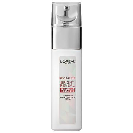L'Oreal Paris Revitalift Bright Reveal Brightening Moisturizer SPF 30 - 1 oz.